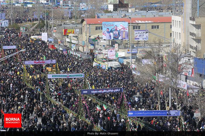 جشن تولدی شکوهمند برای 41 سالگی انقلاب اسلامی ایران/ ببینید