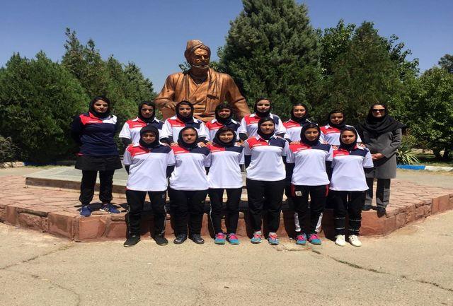 حضور تیم منتخب کرمان در المپیاد استعدادهای برتر فوتبال در بخش بانوان