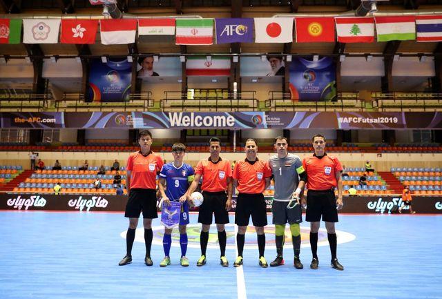 افتتاح مسابقات با دیدار عراق و چین تایپه