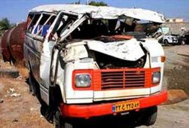 تصادف خونبار در محور مشهد-نیشابور