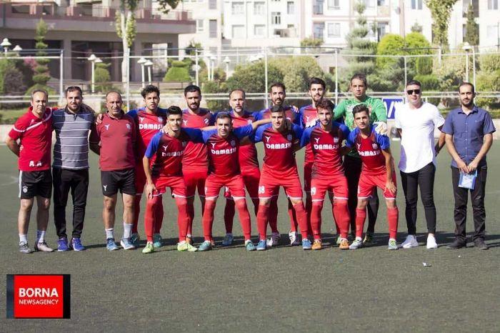 پیروزی قاطع تیم داماش تهران در رقابت های فوتبال باشگاههای تهران
