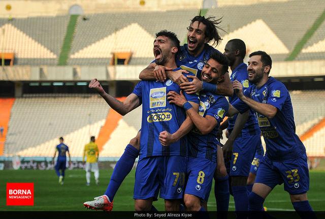 طوفان آبی و جدال یحیی و امیر در صدر لیگ برتر/ ببینید