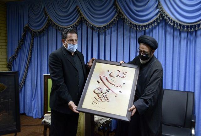 چهار اثر نفیس استاد بختشکوهی به اعتبات مقدسه عراق اهدا شد