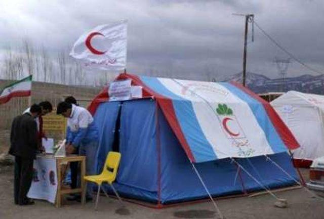 برپایی 8 چادر پزشکی در مسیر نجف به کربلا