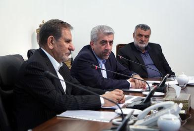 جلسه شورای عالی آب با حضور معاون اول رییس جمهوری