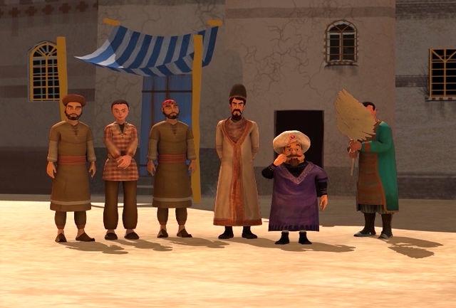 انیمیشن «ستارگان ایرانی» در قاب نهال