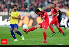کری جدید از فوتبالیست پرسپولیسی که حرکات موزون اجرا میکند+ عکس