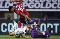 مصدومیت دردناک ستاره فوتبال