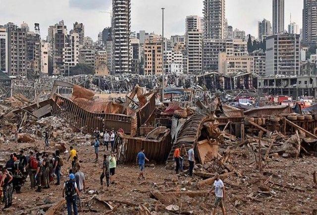 آمار کشتهها و مفقودیهای انفجار بیروت اعلام شد