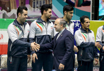 فینال مسابقات مسابقات لیگ جهانی والیبال نشسته - تبریز