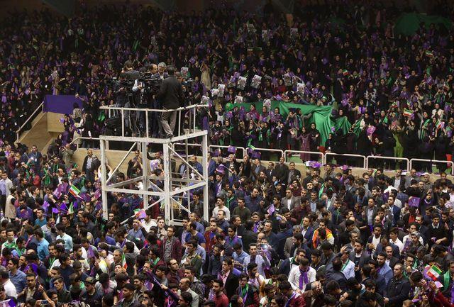 سالن شهید آسمانی شهر اردبیل در آستانه حضور دکتر روحانی/ ببینید
