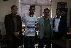 دونده کازرونی به اصفهان رسید