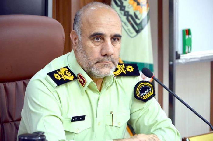 حضور رئیس پلیس پایتخت در محل حادثه انفجار کپسول گاز کلینیک درمانی شمال تهران+فیلم