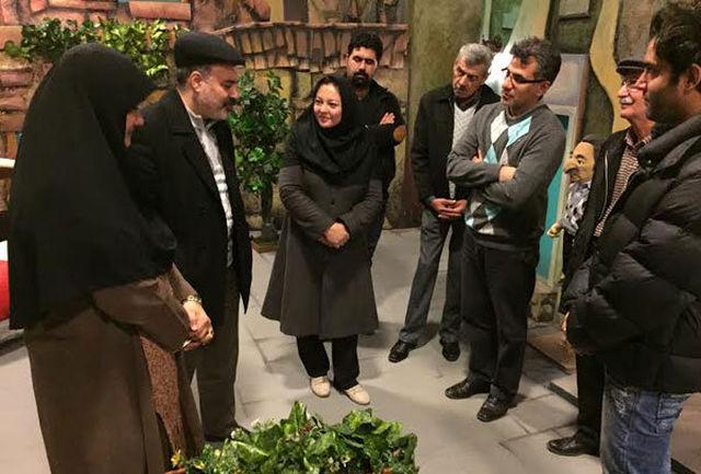 مدیر شبکه دو از پشت صحنه «ماماهوت» دیدار کرد