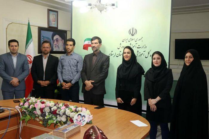 4 قهرمان ملی ورزش ایران، سفیر ورزش دانش آموزی لرستان شدند
