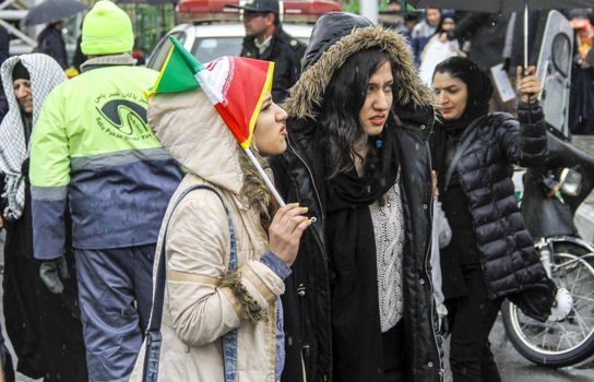 راهپیمایی ۲۲ بهمن در تهران