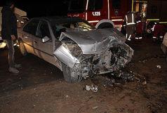 ۶ کشته و زخمی در برخورد شدید پژو و پراید در محور خرمشهر به اهواز