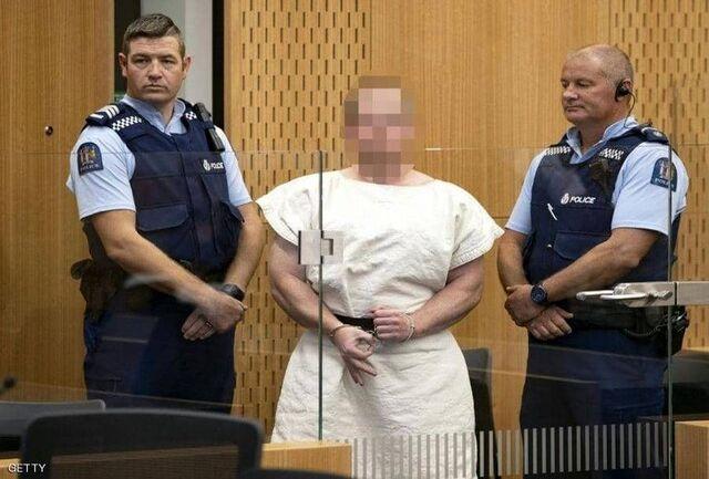 مظنون حملات نیوزیلند به دادگاه برده شد