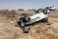 واژگونی خودرو پراید در محور سراوان ۵ نفر را راهی بیمارستان کرد