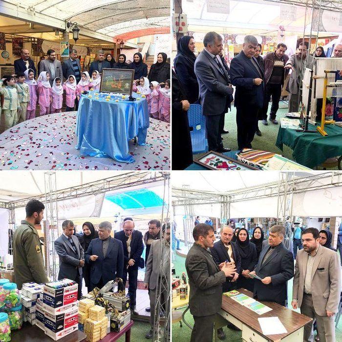 بازدید فرماندار اسلامشهر از نمایشگاه فرهنگی هنری مبارزه با قاچاق کالا