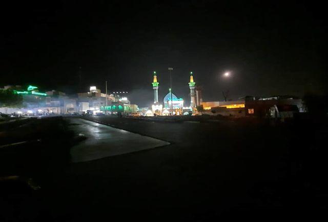 میدانگاه صالحیه(ع) برای مراسم شبهای قدر آماده میشود