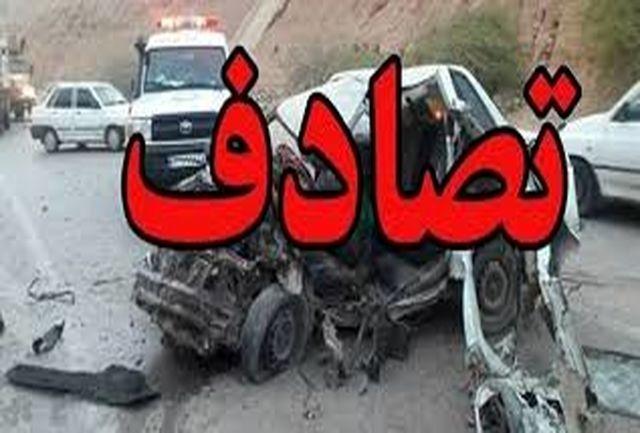 تصادف در محور زاهدان- خاش 7 کشته و مصدوم برجای گذاشت