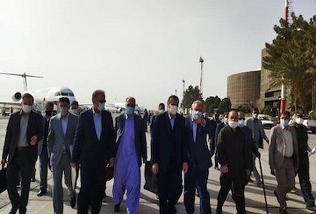 حضور وزیر راه و شهرسازی در استان سیستان و بلوچستان جهت بازدید از پروژههای عمرانی ریلی,جادهای و فرودگاهی