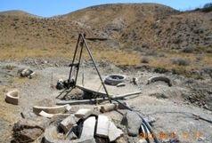 توقیف یک دستگاه حفاری غیر مجاز در منطقه پیامون واقع در شهر آببر شهرستان طارم