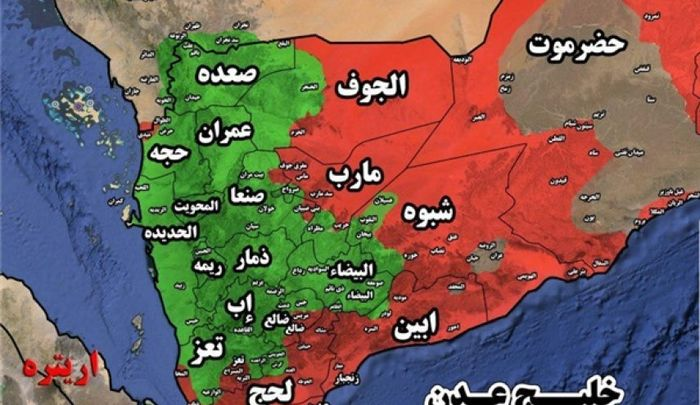 اِفشای فشار عربستان و امارات برای تغییر نقشه مناطق یمن