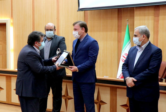 تجلیل از منتخبین ملی و استانی واحدهای صنعتی و خدماتی سبز استان گیلان
