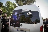 آخرین تصویر از بهنام صفوی  در مراسم تشییع اصفهان+ ببینید
