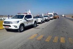 مانور روز بدون حادثه در راههای استان قزوین برگزار شد