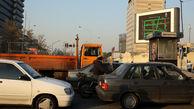 ترافیک سنگین در مسیر جنوب به شمال اتوبان نواب