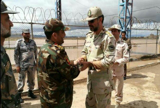 دیدار فرماندهانان مرزبانی تایباد و هرات افغانستان