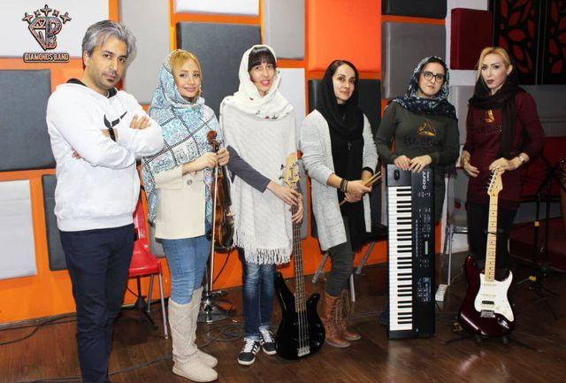 کنسرت زمستانی گروه بانوان الماس ها در فرهنگسرای نیاوران