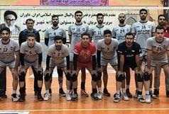 دبل بلندقامتان شهرداری قزوین در کویر