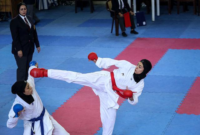 سالن افراسیابی، میزبان هفته دوم سوپرلیگ سبکهای آزاد کاراته