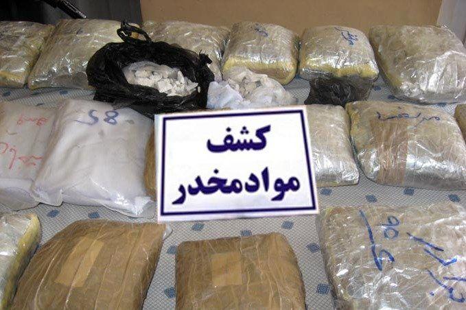 کشف 15 تن مواد مخدر در کشور