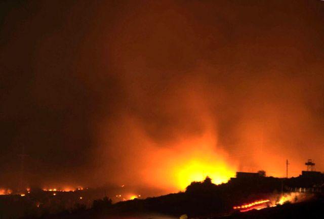 انفجار در انبار مهمات ارتش ترکیه در نزدیکی مرز ایران