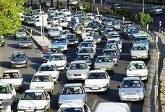 ترافیک صبحگاهی در بزرگراههای تهران