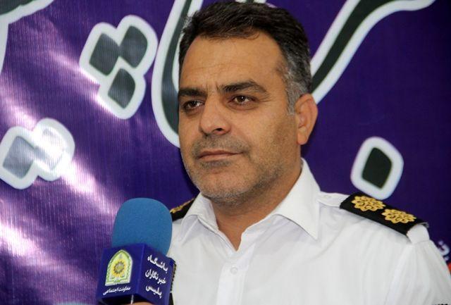 آماده باش نیروهای پلیس راه استان ایلام در هفته پایانی شهریور ماه