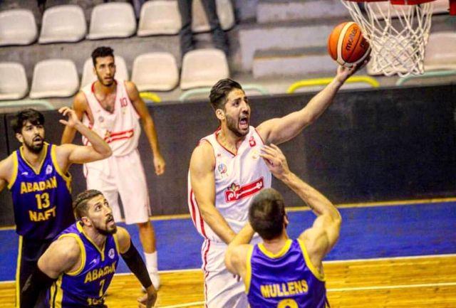 پیروزی شهرداری گرگان برابر نیروی زمینی در لیگ برتر بسکتبال