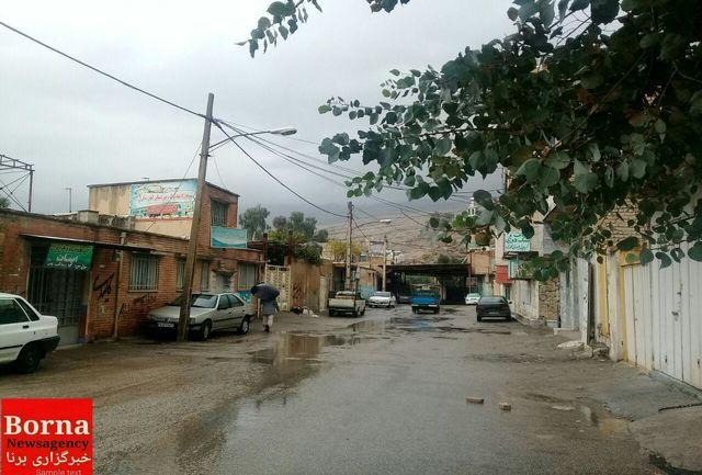 بارندگی 24 ساعت گذشته ایستگاههای هواشناسی لرستان