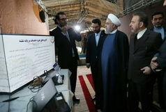 بازدید روحانی از نمایشگاه «کسب و کارهای آینده»