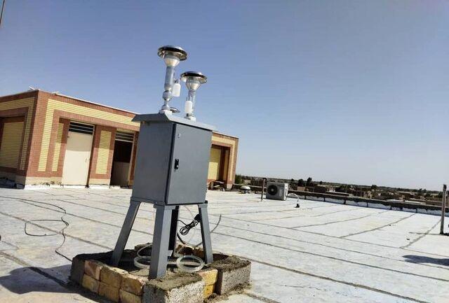 نصب سه دستگاه سنجش ذرات معلق ( ESPS ) در منطقه سیستان