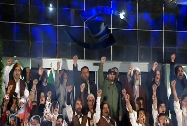 بانگ الله اکبر در صدا و سیمای مرکز قزوین طنین انداز شد