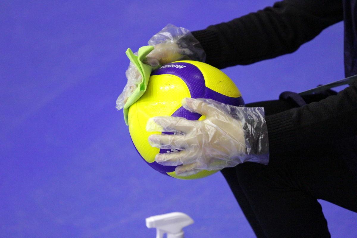 تیم ملی والیبال بانوان واکسینه شد