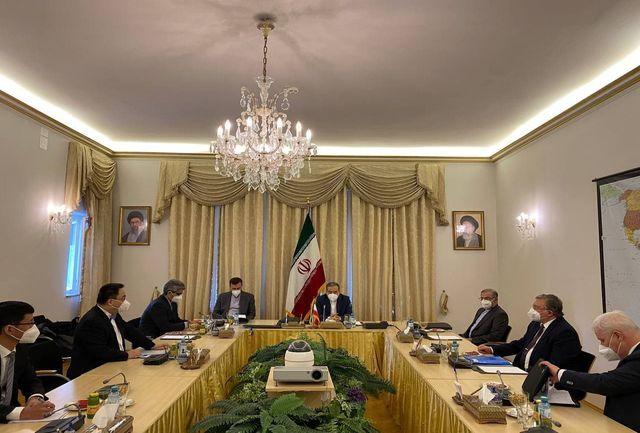 برگزاری نشست سه جانبه هماهنگی میان روسای هیاتهای ایران، روسیه و چین