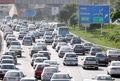 ترافیک پرحجم در محورهای تهران-کرج و تهران-قم