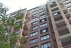 نجات  کارگر ساختمانی از ارتفاع 15 متری